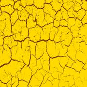 cracked clay ground into the dry season. Vector illustration. - stock illustration