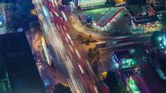 Shenzhen crossroad timelapse Stock Footage