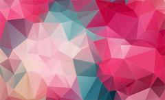 Vintage Two-dimensional  colorful background Stock Illustration
