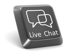 Live Chat Stock Illustration