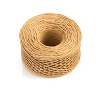 roll of twine cord isolated on white - stock photo