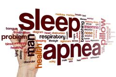 Sleep apnea word cloud Kuvituskuvat