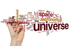Stock Photo of Universe word cloud