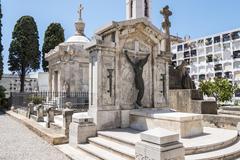 Graves in the cemetery, graveyard Kuvituskuvat