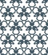 dark monochrome color abstract geometric seamless pattern. - stock illustration