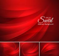 Swirl abstract background Stock Illustration