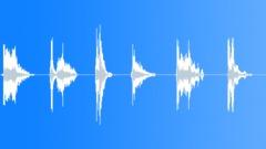 Zombie medium  death scream pack Sound Effect