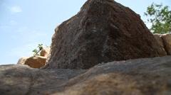 Raw stone Texture Stock Footage