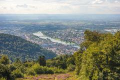 Stock Photo of View over Heidelberg