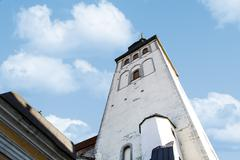 St Nicholas Church - stock photo