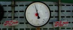 Steam manometer - stock footage