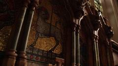 Church Altar Stock Footage