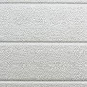 White plastic wall sheathing cover - stock photo