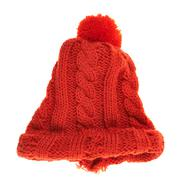 Knitted winter cap isolated Stock Photos