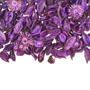 Dried medley potpourri leaves - stock photo