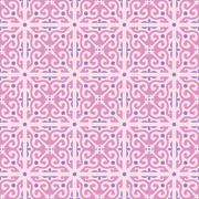 Vector wallpaper seamless flower pattern Stock Illustration