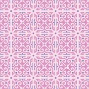 Stock Illustration of vector wallpaper seamless flower pattern