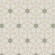 Cute abstract beige feminine pattern - stock illustration