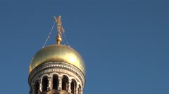 Russia Saint-Petersburg 2015 Savior on Spilled Blood detailed Stock Footage