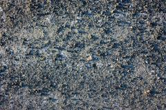 Abstraction a background. Sand and small stones, gravel. Stock Photos