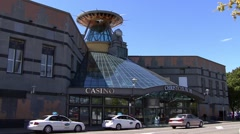 Christchurch New Zealand Casino Stock Footage