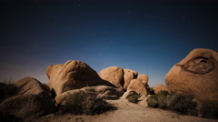 Joshua Tree Astral Time-Lapse - stock footage