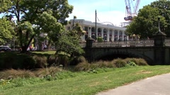 New Zealand Christchurch City Centre Stock Footage