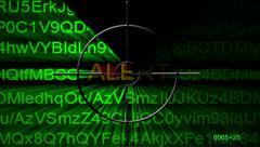 Alert radar concept Stock Footage