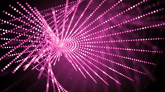 Pink abstract motion background. Stock Footage