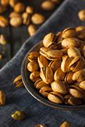 Spicy BBQ Chipotle Pistachios - stock photo
