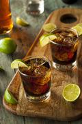 Stock Photo of Rum and Cola Cuba Libre