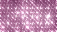 Floodlights disco background with particles. Stock Footage