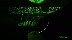 ISIS radar concept Stock Footage