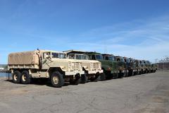 Military Vehicles Kuvituskuvat