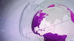 Motion Earth Background 107 - stock footage