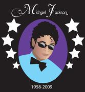 Michael Jackson - stock illustration