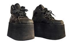 Ladies shoes platform Stock Photos