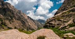 4K, Timelapse, Restonica Valley, Corsica Stock Footage