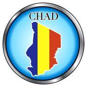 Chad Stock Illustration