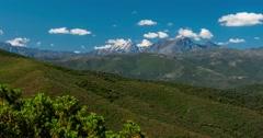 4K, Timelapse, Urtaca Region, Corsica Stock Footage