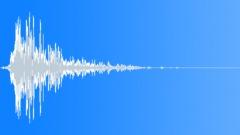 wooden door impact hit slam 2 - sound effect