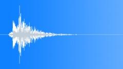 Metal door impact hit slam 4 Sound Effect