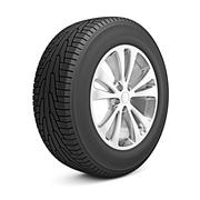 Car winter tire isolated on white background Stock Illustration