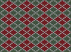 Stock Illustration of Argyle background pattern