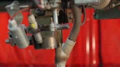Submerged arc welding process Stock Footage