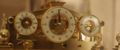 Vintage chronograph Stock Footage