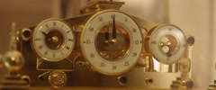 Vintage chronograph Stock Footage