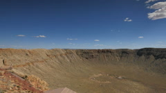 Meteor Crater 08 Stock Footage