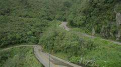 Mountain Road of the Serra do Rio do Rastro Stock Footage