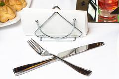 Photo of tableware Stock Photos